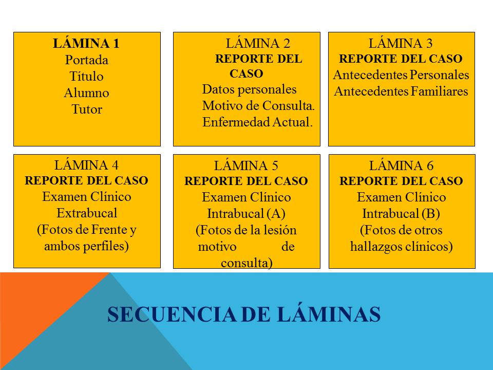 Casos clínicos esquema Patología Bucal